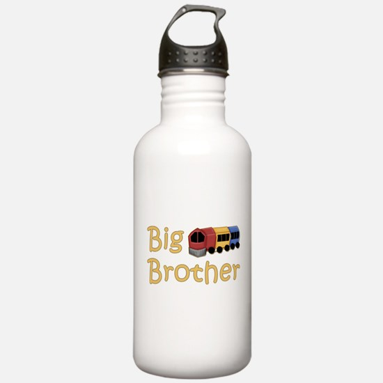 Big Brother Train Water Bottle