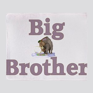 Big Brother Wooly Mammoth Throw Blanket