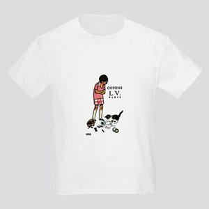 french thread ad Kids Light T-Shirt