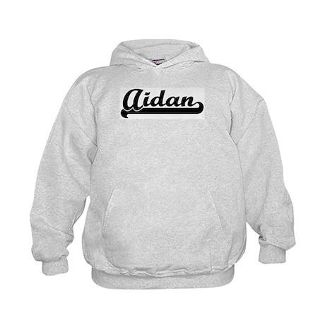 Black jersey: Aidan Kids Hoodie