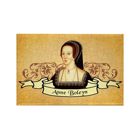 Anne Boleyn Rectangle Magnet