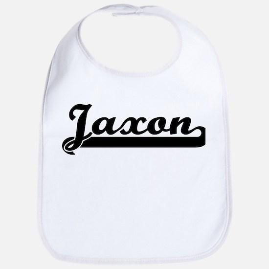 Black jersey: Jaxon Bib