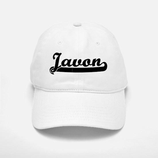 Black jersey: Javon Baseball Baseball Cap