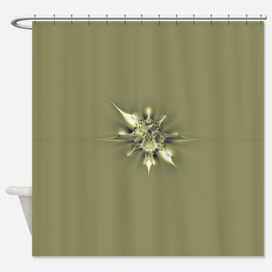 Metallic Taste Shower Curtain