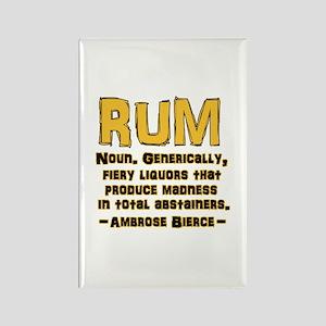 Bierce Rum Rectangle Magnet