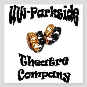 Black UW-Parkside Theatre Company lettering Square