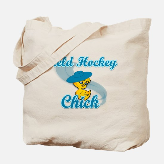 Field Hockey Chick #3 Tote Bag