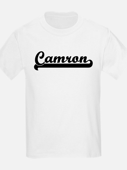 Black jersey: Camron Kids T-Shirt