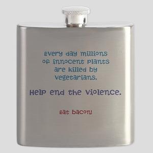 Eat Bacon Flask