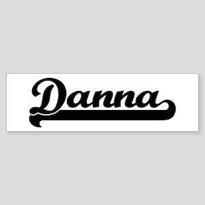 Black jersey: Danna Bumper Sticker