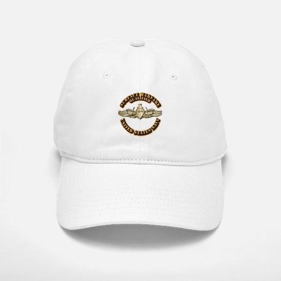 Navy - Surface Warfare - Gold Baseball Baseball Cap