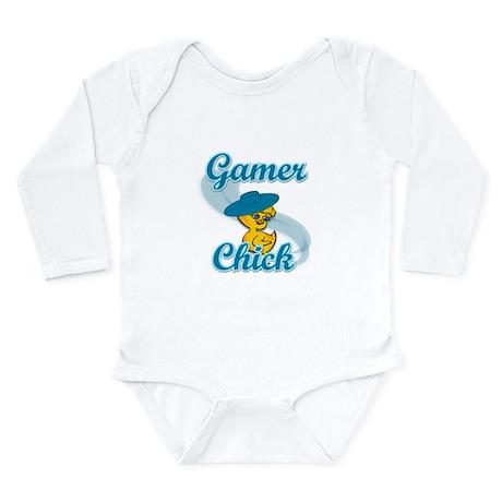 Gamer Chick #3 Long Sleeve Infant Bodysuit