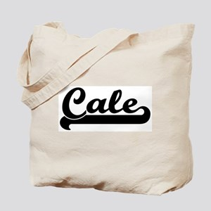 Black jersey: Cale Tote Bag