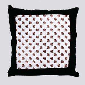 No Peanuts! Throw Pillow