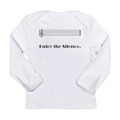 Enjoy the Silence Long Sleeve Infant T-Shirt