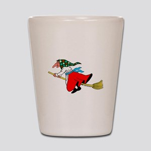 Norwegian Good Luck Kitchen Witch Shot Glass