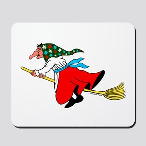 Norwegian Good Luck Kitchen Witch Mousepad