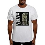 Völva's Staff T-Shirt (Ash Grey)