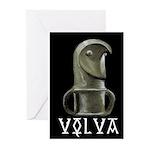 Völva's Staff Greeting Cards-6/pkg