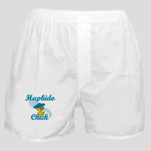 Hapkido Chick #3 Boxer Shorts