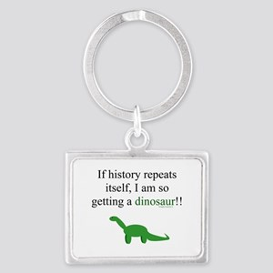 If History Repeats Landscape Keychain