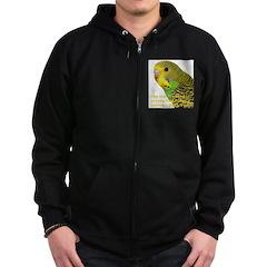 Parakeet 2 - Steve Duncan Zip Hoodie (dark)