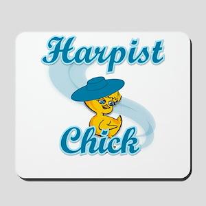 Harpist Chick #3 Mousepad