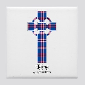 Cross - Laing of Archiestown Tile Coaster