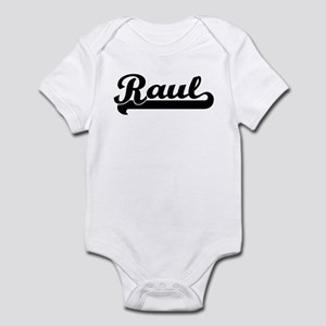 Black jersey: Raul Infant Bodysuit