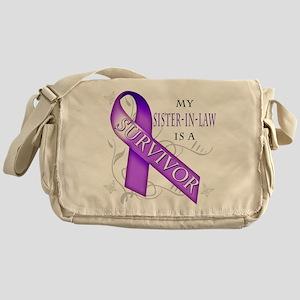 My Sister in Law is a Survivor (purple) Messen