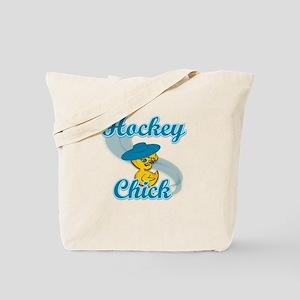 Hockey Chick #3 Tote Bag