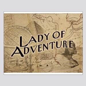 Lady Of Adventure Small Poster