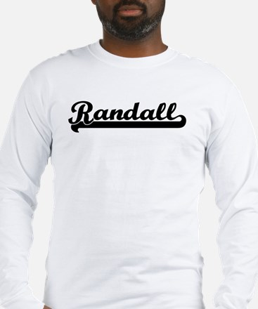Black jersey: Randall Long Sleeve T-Shirt