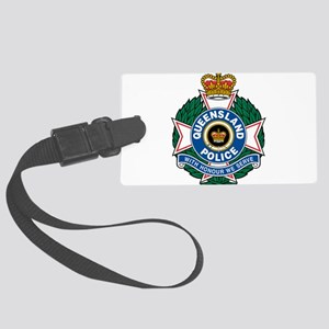 Queensland Police logo Large Luggage Tag