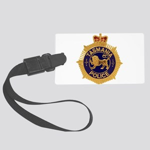 Tasmania Police badge v2 Large Luggage Tag