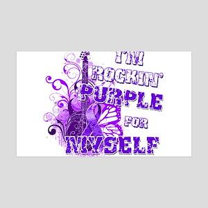 Im Rockin Purple for Myself.png 35x21 Wall Decal