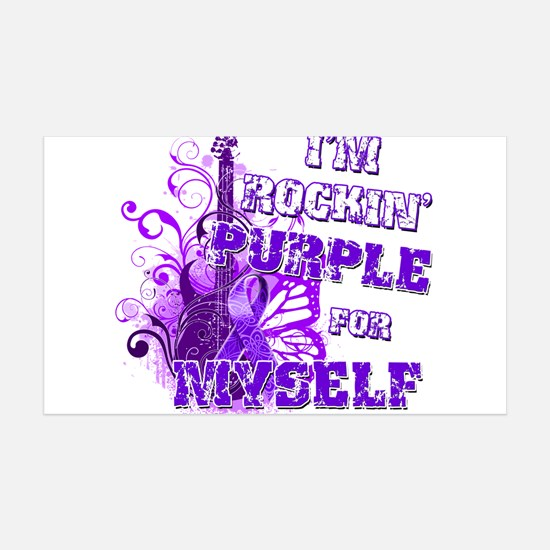 Im Rockin Purple for Myself.png Wall Decal