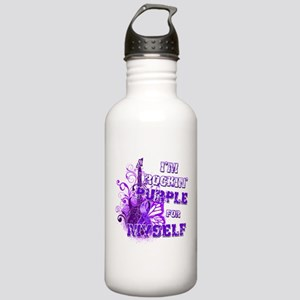 Im Rockin Purple for Myself.png Stainless Water Bo