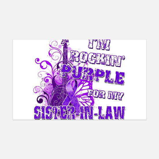 Im Rockin Purple for my Sister in Law.png Wall Decal