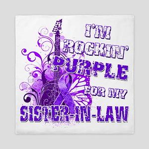 Im Rockin Purple for my Sister in Law Queen Du