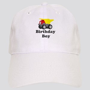 Dump Truck Birthday Boy Cap