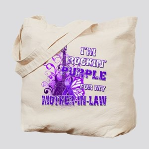 Im Rockin Purple for my Mother in Law Tote Bag