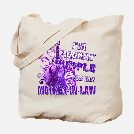 Im Rockin Purple for my Mother in Law.png Tote Bag
