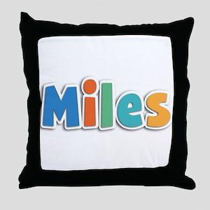 Miles Spring11B Throw Pillow