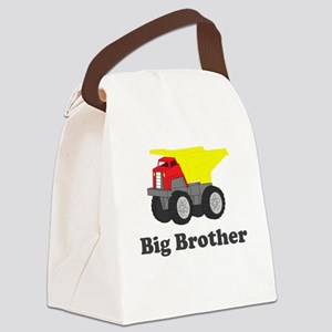 Big Brother Dump Truck Canvas Lunch Bag