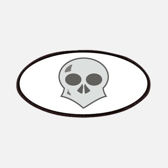 Creepy Skull (Reversed) Patches