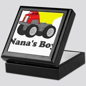 Nanas Boy Dump Truck Keepsake Box