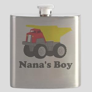 Nanas Boy Dump Truck Flask
