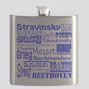 Classical Composers Flask