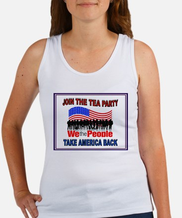 TEA PARTY Women's Tank Top